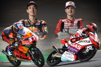 Acosta y Guevara lideran la revolución rookie de Moto3™