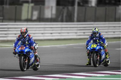 """I was so angry"", but Suzuki find Sunday pace again in Qatar"