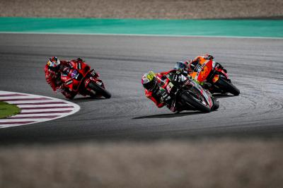 Aprilia prove their worth by setting new MotoGP™ record