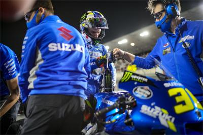 "Qualifying and starts, Suzuki's ""target is clear"" in Doha"