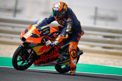 Masia half a second clear in scorching Moto3™ FP1
