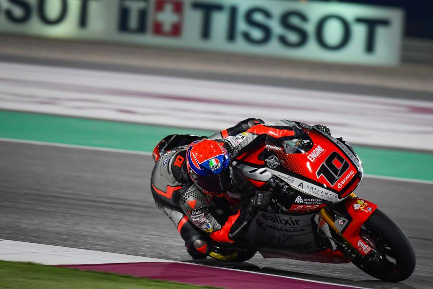 Tommaso Marcon, MV Agusta Forward Racing, TISSOT Grand Prix of Doha