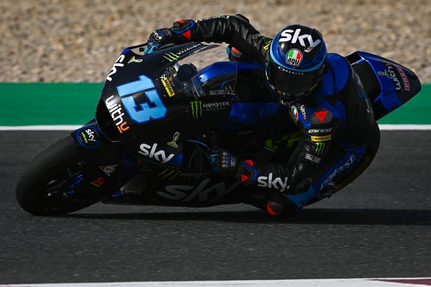 Celestino Vietti, Sky Racing Team VR46, TISSOT Grand Prix of Doha