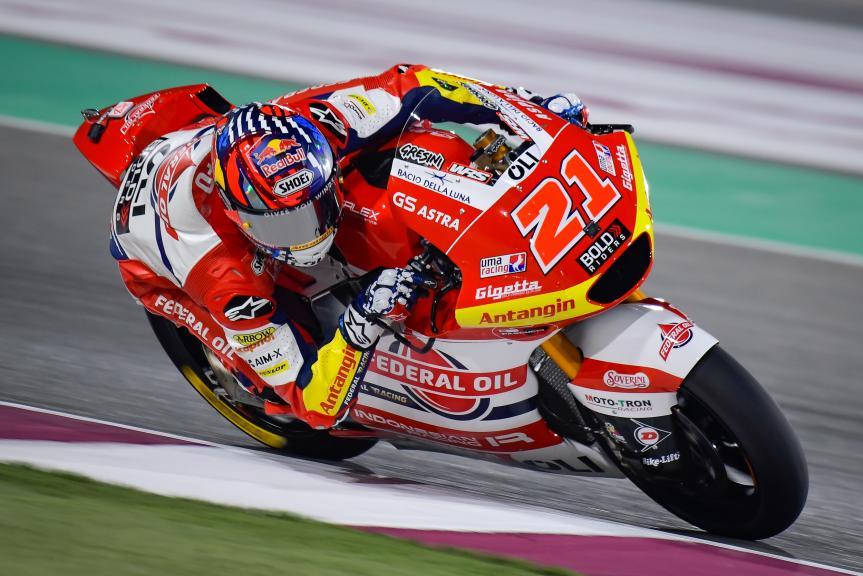 Fabio Di Giannantonio, Federal Oil Gresini Moto2, TISSOT Grand Prix of Doha