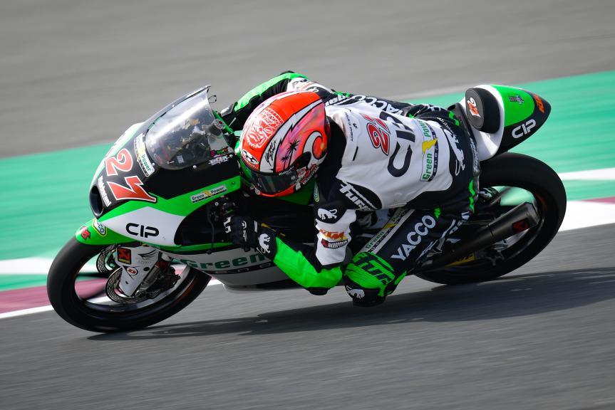 Kaito Toba, Cip Green Power, TISSOT Grand Prix of Doha