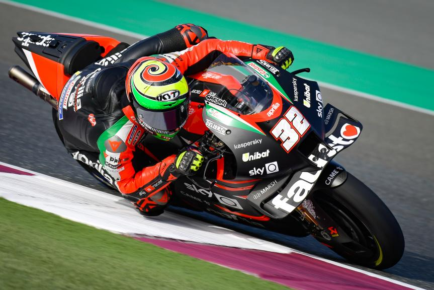 Lorenzo Savadori, Aprilia Racing Team Gresini, TISSOT Grand Prix of Doha
