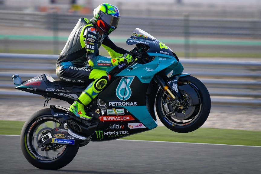 Valentino Rossi, Petronas Yamaha, TISSOT Grand Prix of Doha