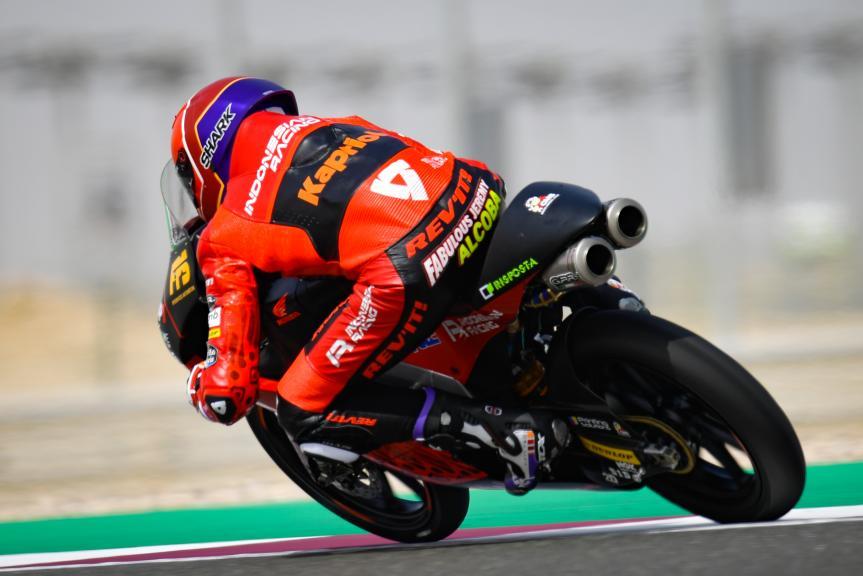 Jeremy Alcoba, Indonesian Gresini Racing Moto3, TISSOT Grand Prix of Doha