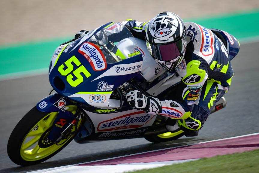 Romano Fenati, Sterilgarda Max Racing Team, TISSOT Grand Prix of Doha