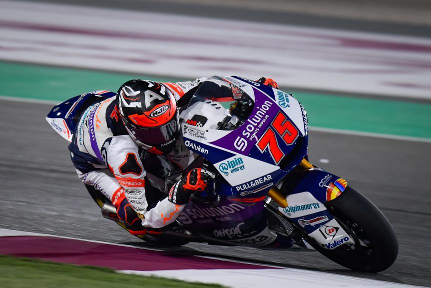 Albert Arenas, Inde Aspar Team, TISSOT Grand Prix of Doha