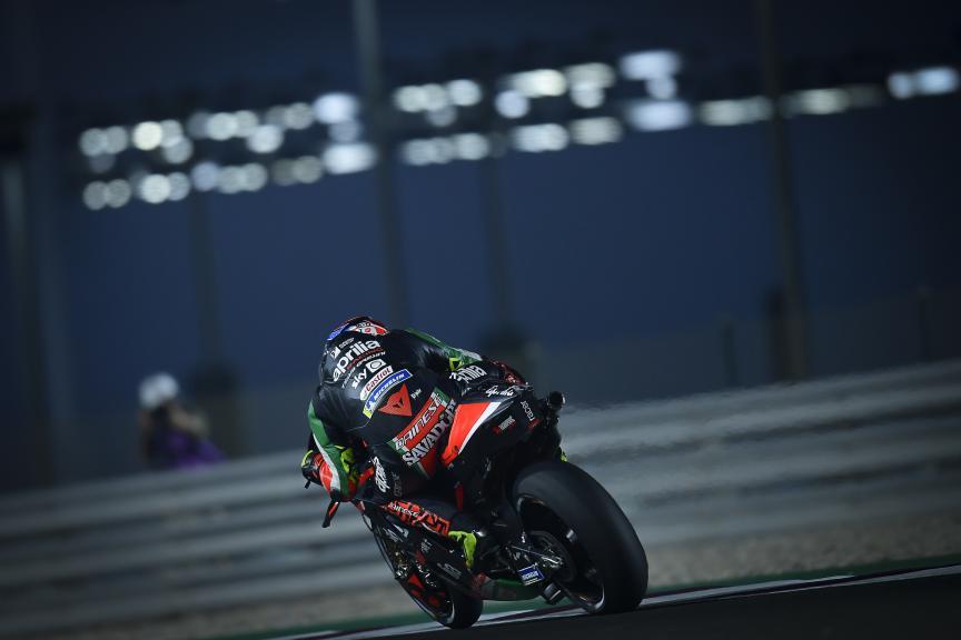 Lorenzo Savadori, Aprilia Racing Team Gresini, TISSOT Grand Prix of Doha