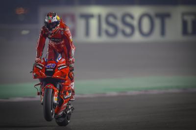 Miller encabeza un dominio absoluto de Ducati en el primer día en Doha
