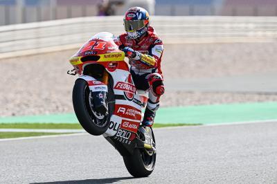 Moto2 ™: Di Giannantonio supera a Bezzecchi en la FP1