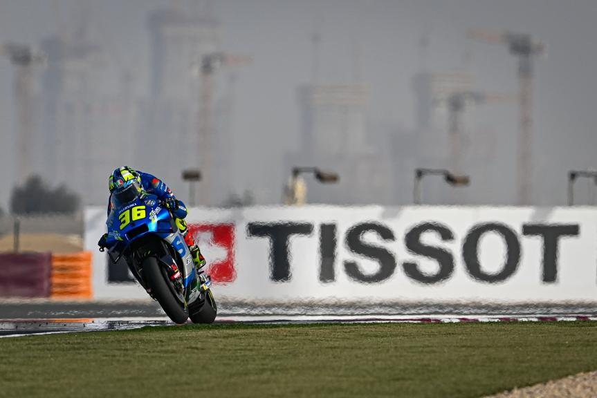 Joan Mir, Team Suzuki Ecstar, TISSOT Grand Prix of Doha