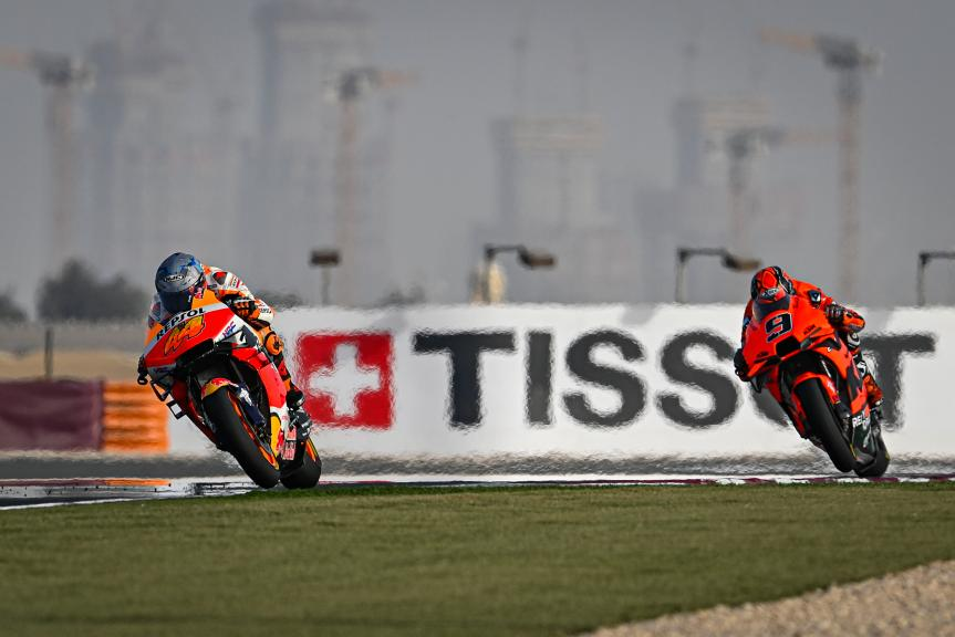 Pol Espargaro, Danilo Petrucci, TISSOT Grand Prix of Doha