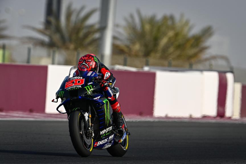 Fabio Quartararo, Monster Energy Yamaha MotoGP, TISSOT Grand Prix of Doha
