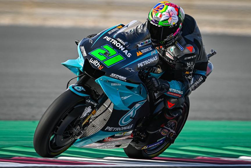 Franco Morbidelli, Petronas Yamaha STR, TISSOT Grand Prix of Doha