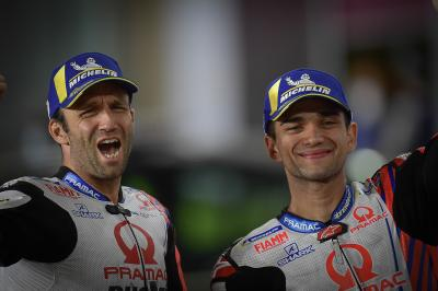 'It's really emotional' - Guidotti on Pramac 1-2