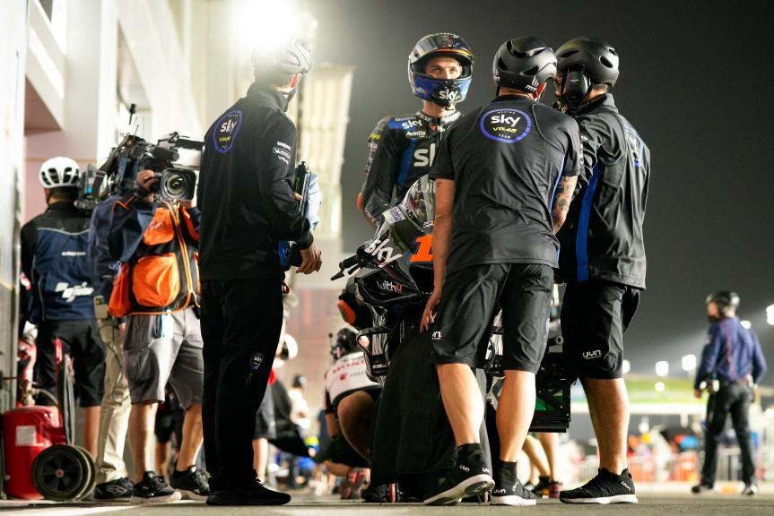 Luca Marini, Sky VR46 Avintia, TISSOT Grand Prix of Doha