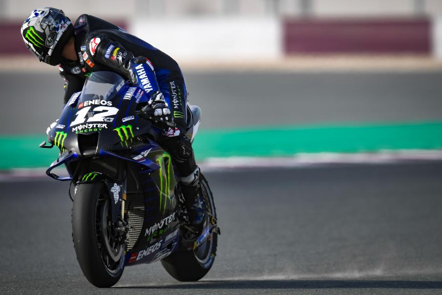 Maverick Viñales, Monster Energy Yamaha MotoGP, TISSOT Grand Prix of Doha