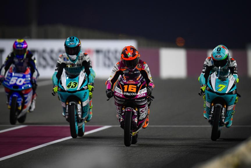 Andrea Migno, Rivacold Snipers Team, TISSOT Grand Prix of Doha