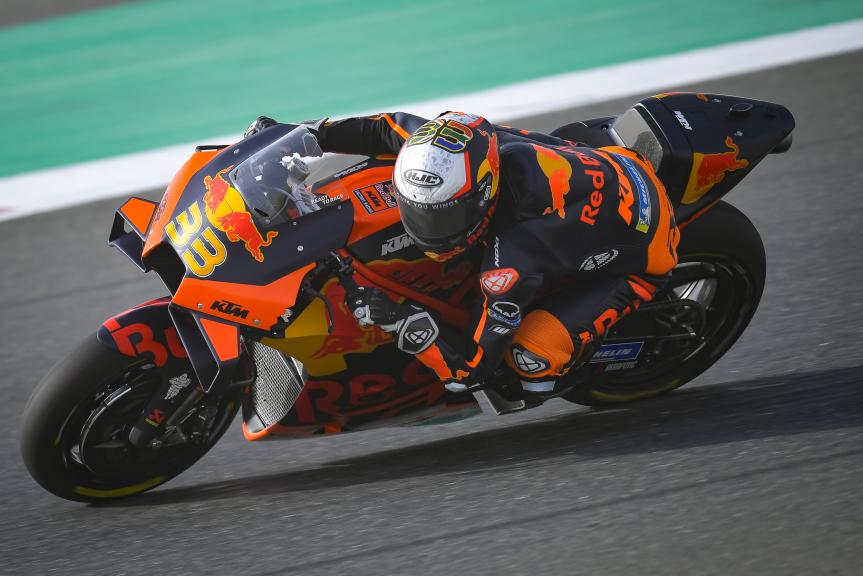 Brad Binder, Red Bull KTM Factory Racing, TISSOT Grand Prix of Doha