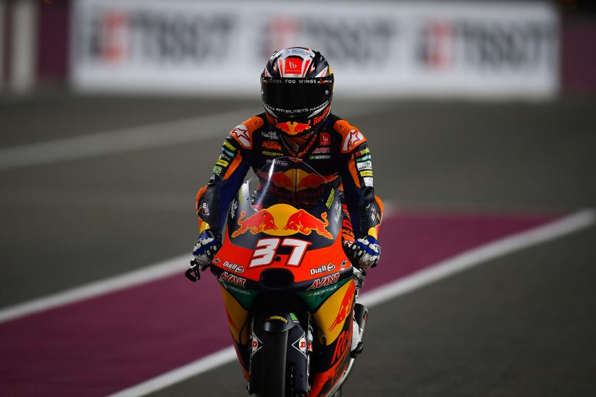 Pedro Acosta, Red Bull KTM Ajo, TISSOT Grand Prix of Doha