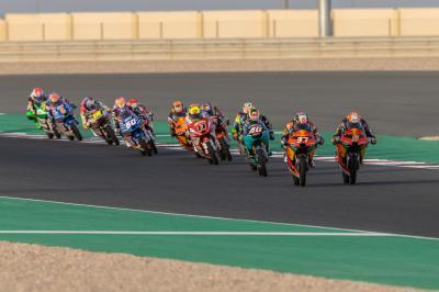 Sanción para 7 pilotos de Moto3™ con salir desde el pitlane