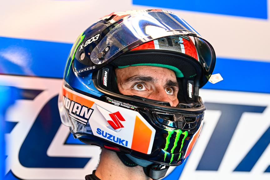 Alex Rins, Team Suzuki Ecstar, TISSOT Grand Prix of Doha