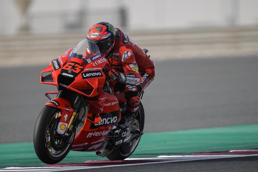 Francesco Bagnaia, Ducati Lenovo Team, TISSOT Grand Prix of Doha