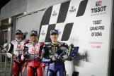 Jorge Martin, Johann Zarco, Maverick Viñales, TISSOT Grand Prix of Doha