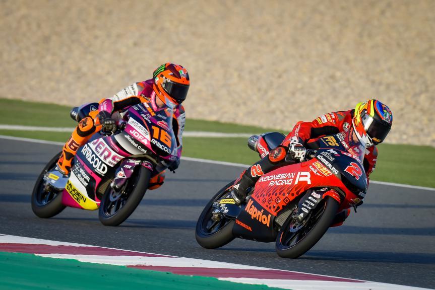 Gabriel Rodrigo, Andrea Migno, TISSOT Grand Prix of Doha
