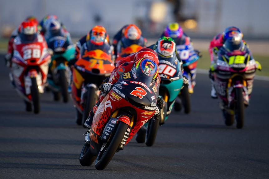 Gabriel Rodrigo, Indonesian Gresini Racing Moto3, TISSOT Grand Prix of Doha