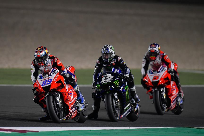 Jorge, Martin, Maverick Viñales, Johann Zarco, TISSOT Grand Prix of Doha