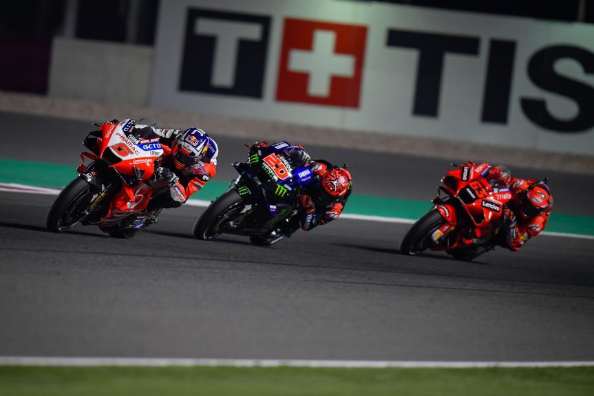 Johann Zarco, Fabio Quartararo, TISSOT Grand Prix of Doha