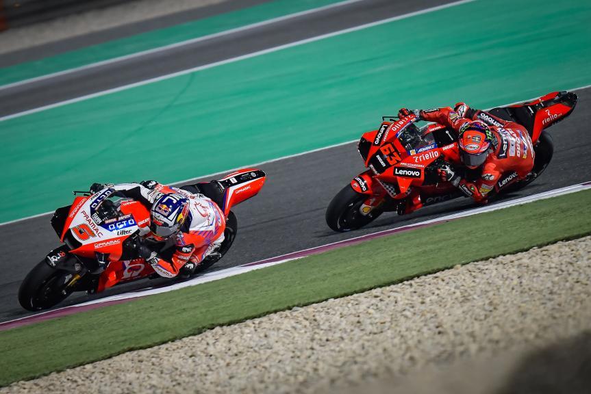 Johann Zarco, Francesco Bagnaia, TISSOT Grand Prix of Doha