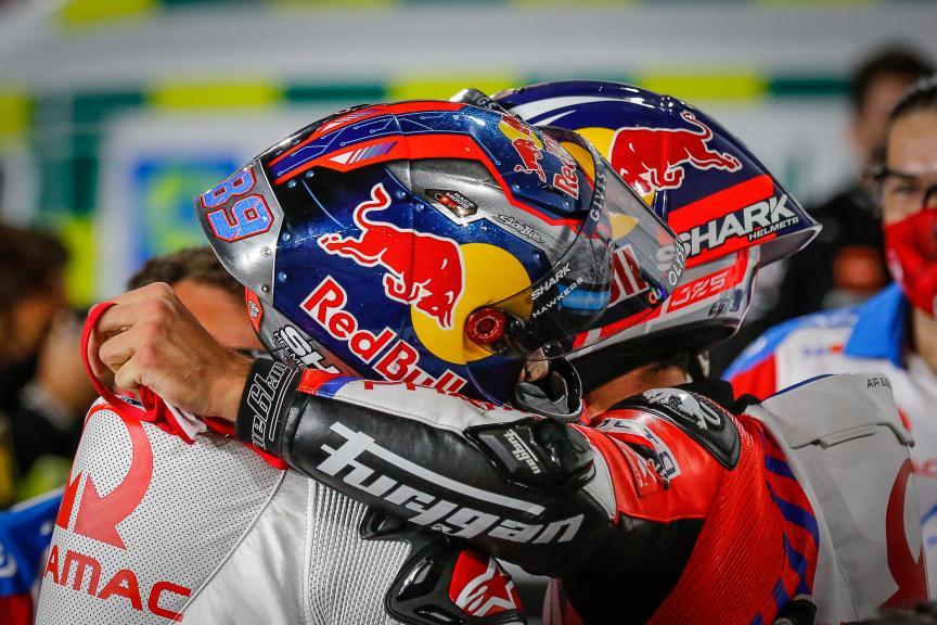 Johann Zarco, Jorge Martin, Pramac Racing, TISSOT Grand Prix of Doha