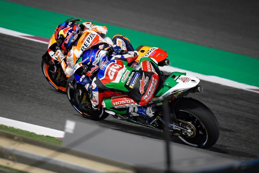 Stefan Bradl, Alex Marquez, TISSOT Grand Prix of Doha