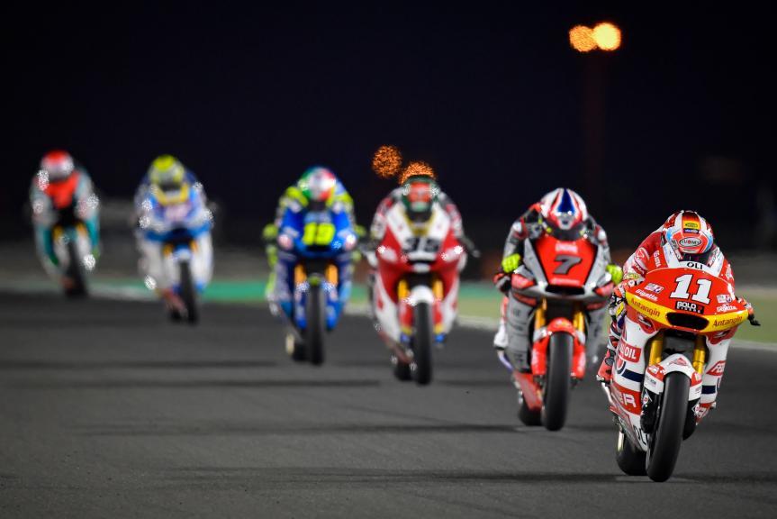 Nicolo Bulega, Federal Oil Gresini Moto2, TISSOT Grand Prix of Doha