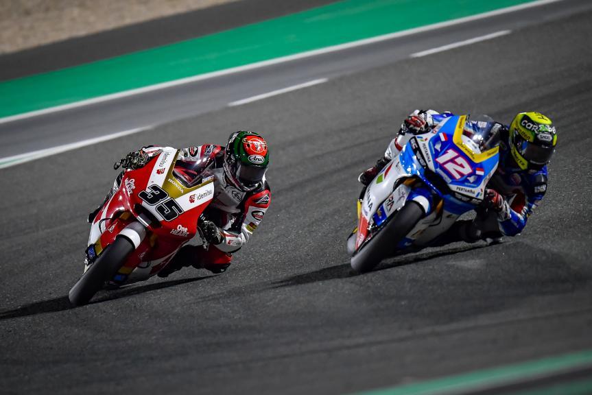 Thomas Luthi, Raul Fernandez, TISSOT Grand Prix of Doha