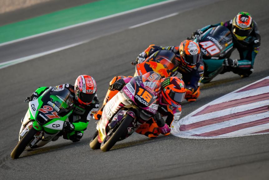 Andrea Migno, Kaito Toba, TISSOT Grand Prix of Doha