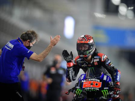 Best shots of MotoGP, TISSOT Grand Prix of Doha