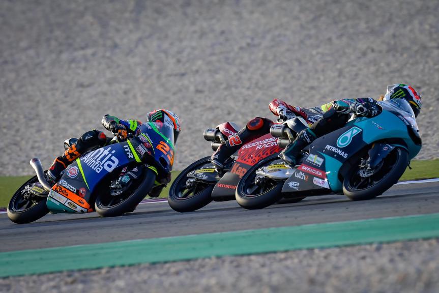 Niccolo Antonelli, Darryn Binder, TISSOT Grand Prix of Doha