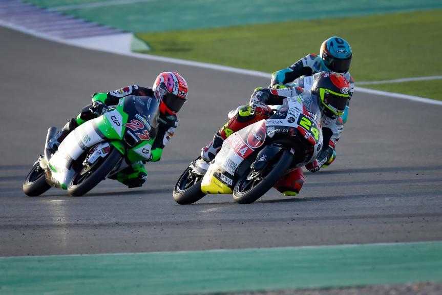 Tatsuki Suzuki, Kaito Toba, TISSOT Grand Prix of Doha