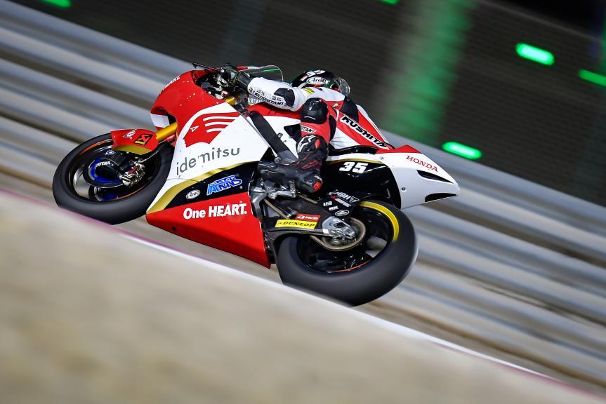 Somkiat Chantra, Idemitsu Honda Team Asia, TISSOT Grand Prix of Doha