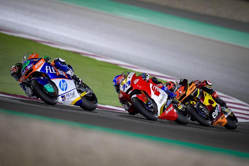 Augusto Fernandez, Stefano Manzi, Ai Ogura, TISSOT Grand Prix of Doha