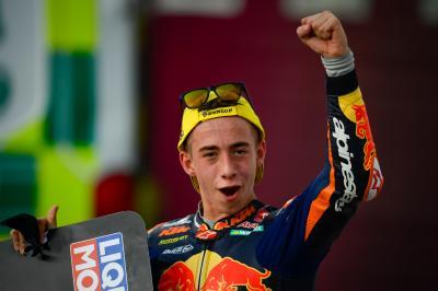 """""""Tenía que creer"""" - La voz del podio de Moto3™"""