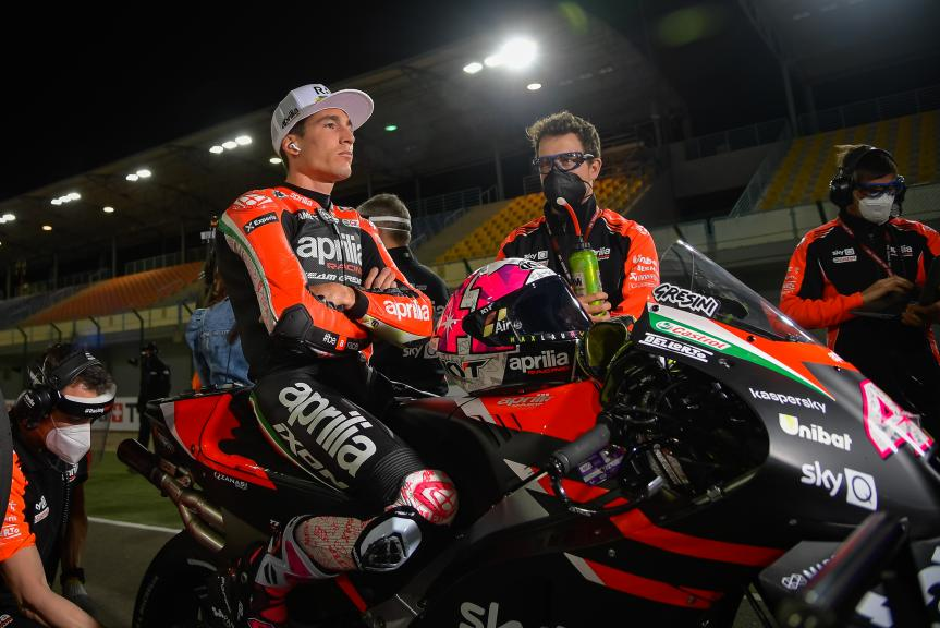 Aleix Espargaro, Aprilia Racing Team Gresini, TISSOT Grand Prix of Doha