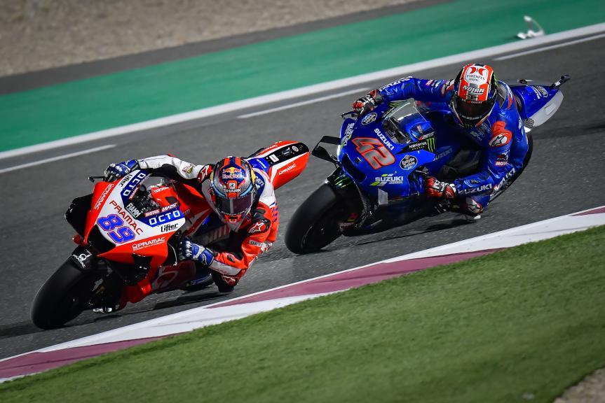 Jorge Martin, Alex Rins, TISSOT Grand Prix of Doha