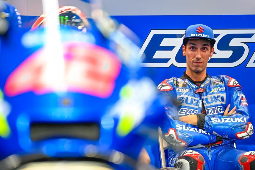 Alex Rins, Team Suzuki Ecstar, TISSOT Grand Prix of Doha
